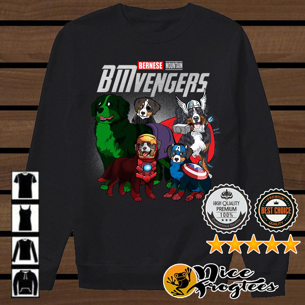 BMvengers Bernese Mountain Marvel Avengers shirt