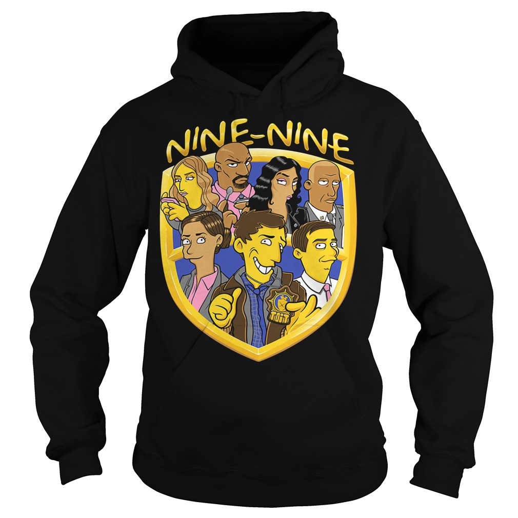 Brooklyn 99 nine-nine The Simpsons version Hoodie