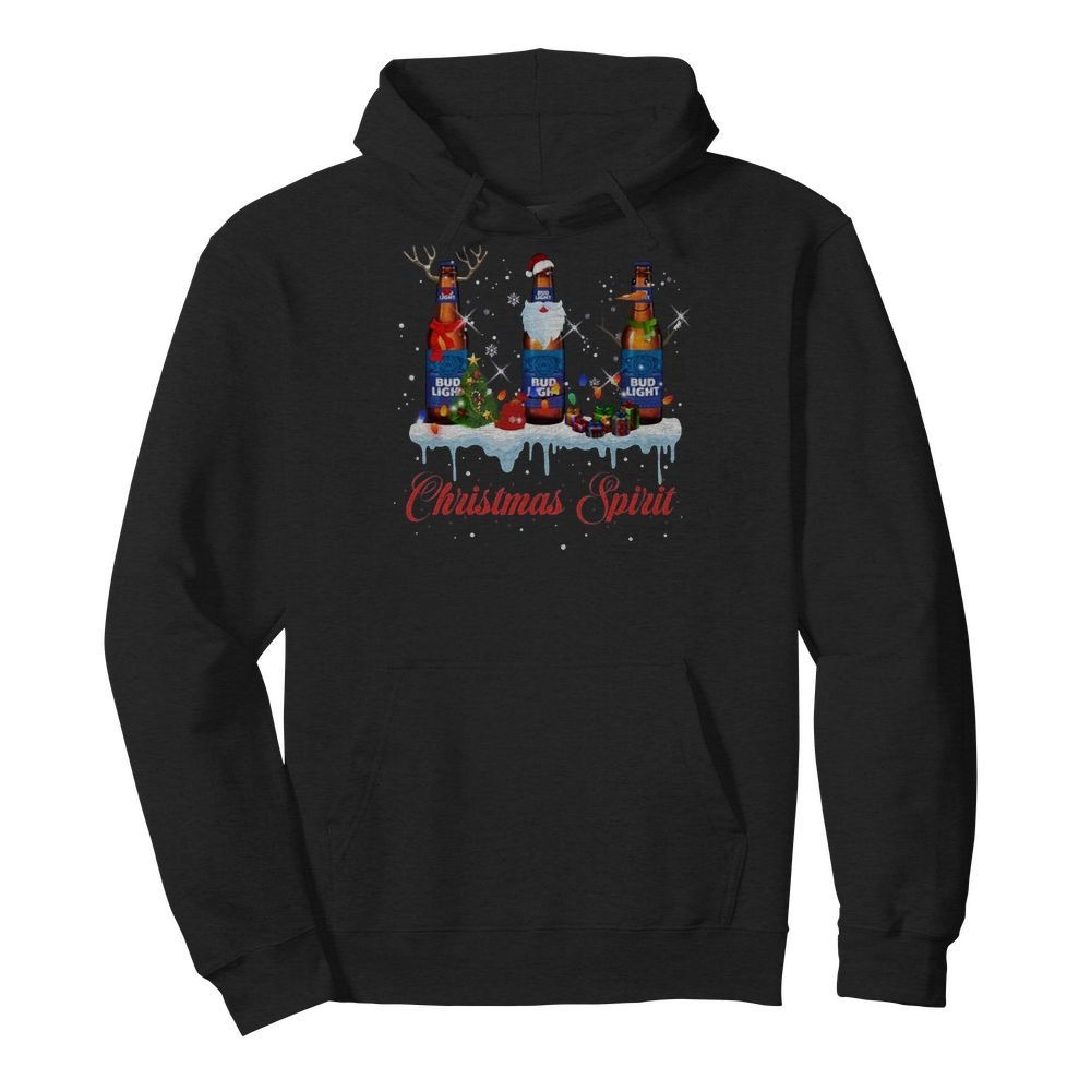 Bud Light Christmas spirit Hoodie