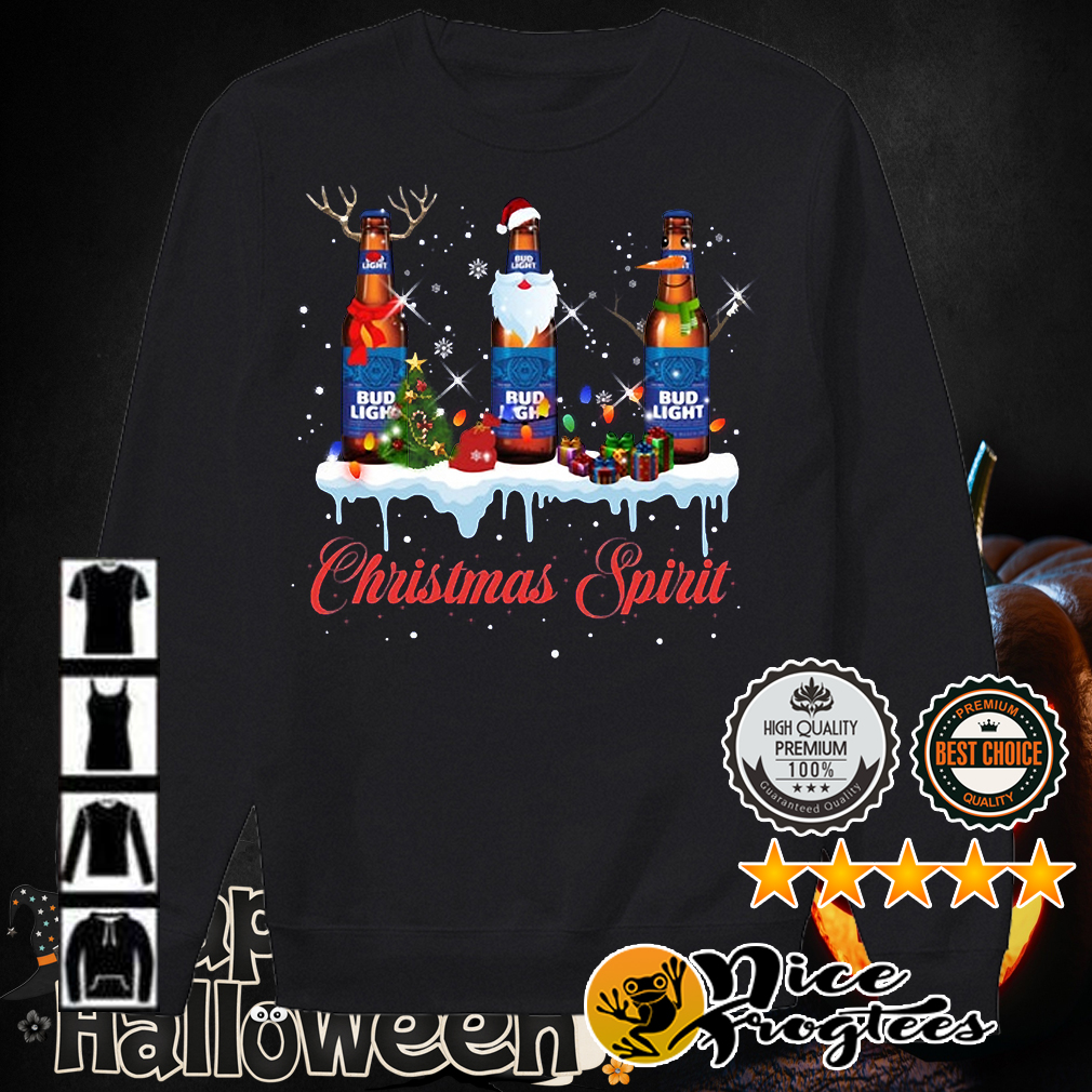 Bud Light Christmas spirit shirt