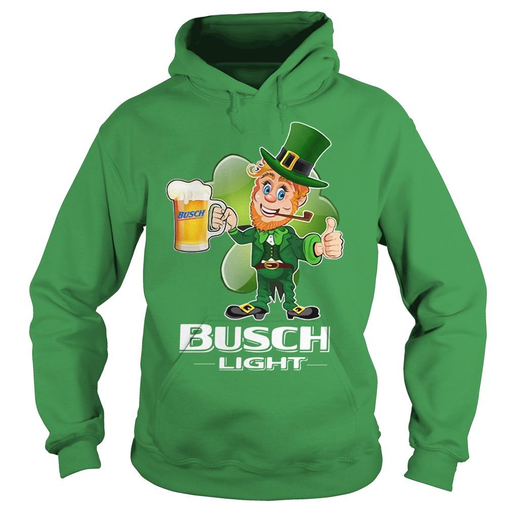 Busch Light beer St Patrick's Day Hoodie