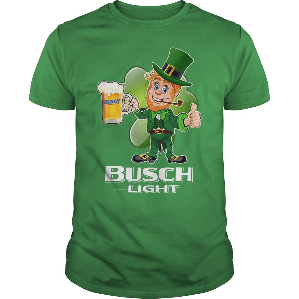Busch Light beer St Patrick's Day shirt