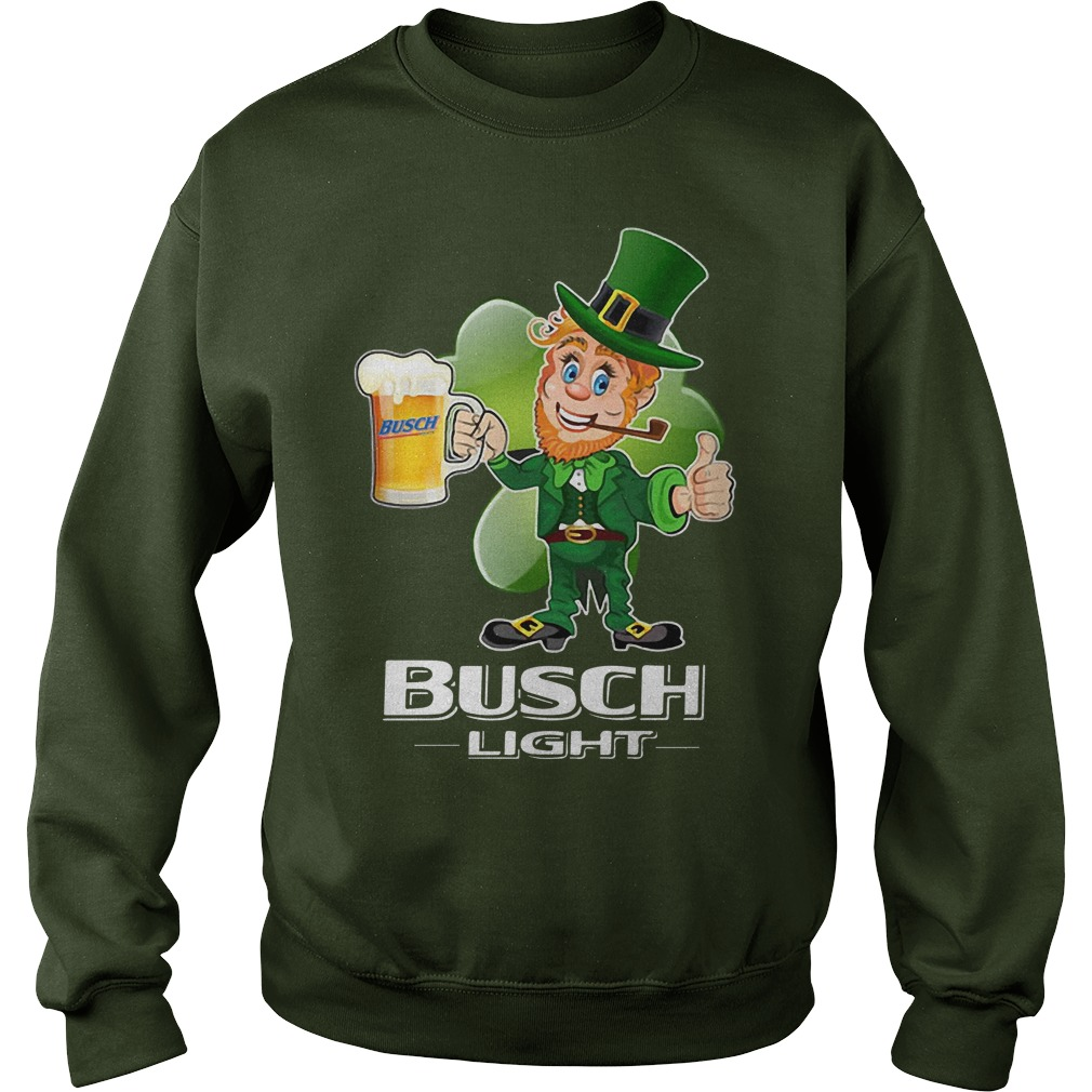 Busch Light beer St Patrick's Day Sweater