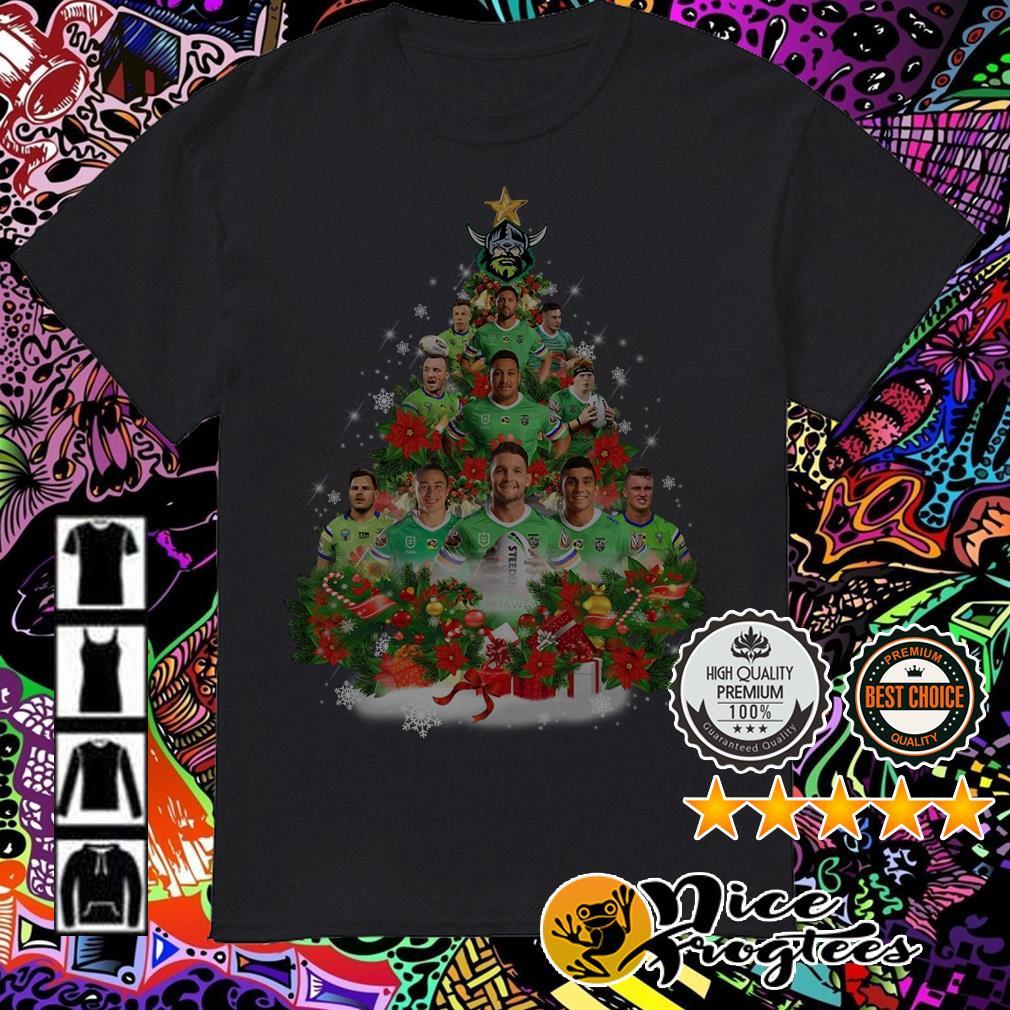 Canberra Raiders Christmas tree shirt