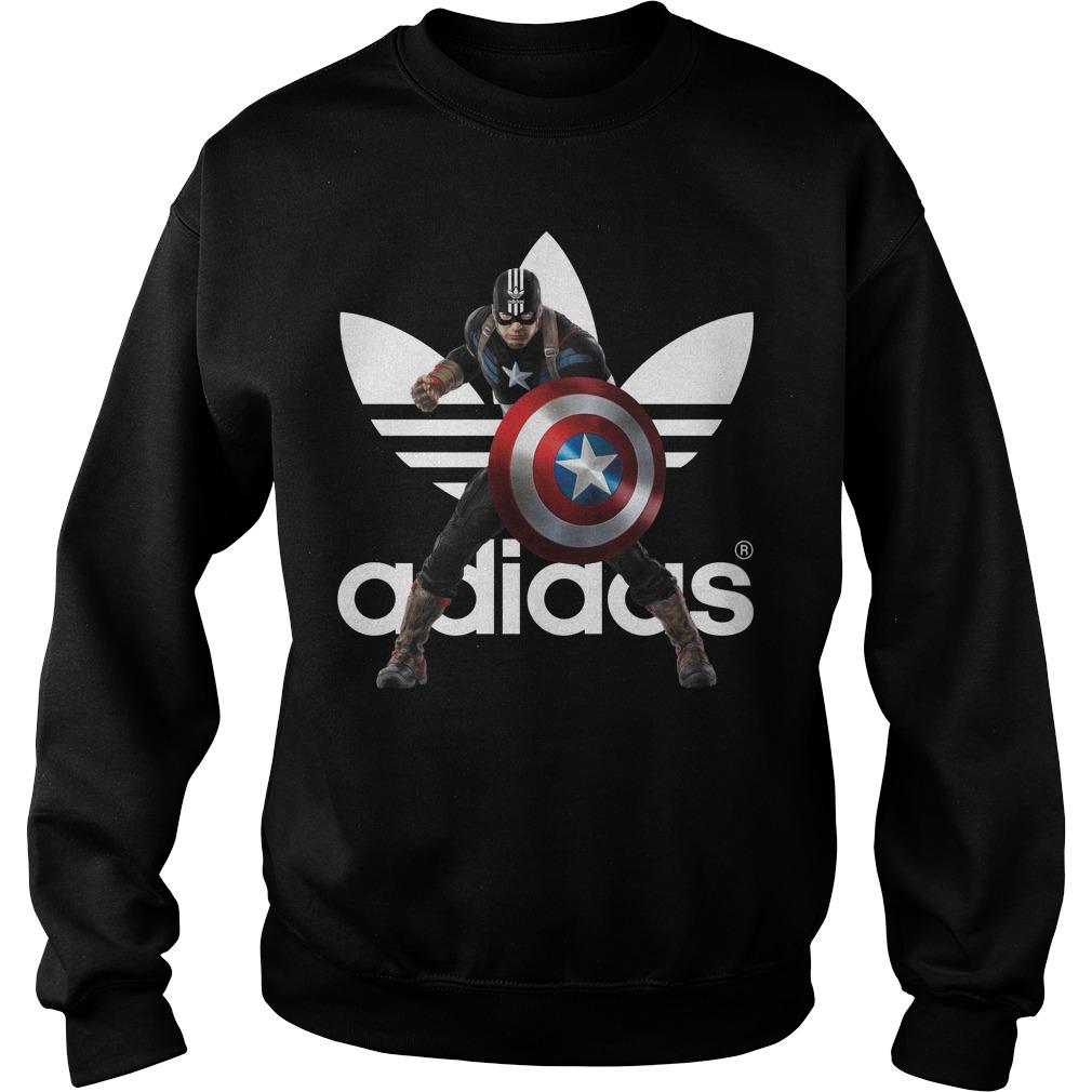 Captain America adidas Sweater