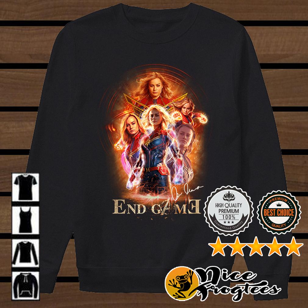 Carol Danvers Captain Marvel Endgame shirt