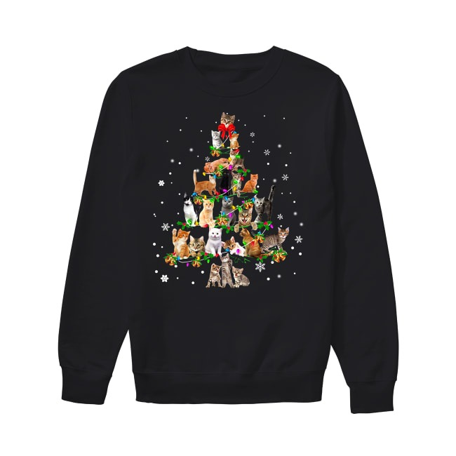 Cat tree Christmas Sweater