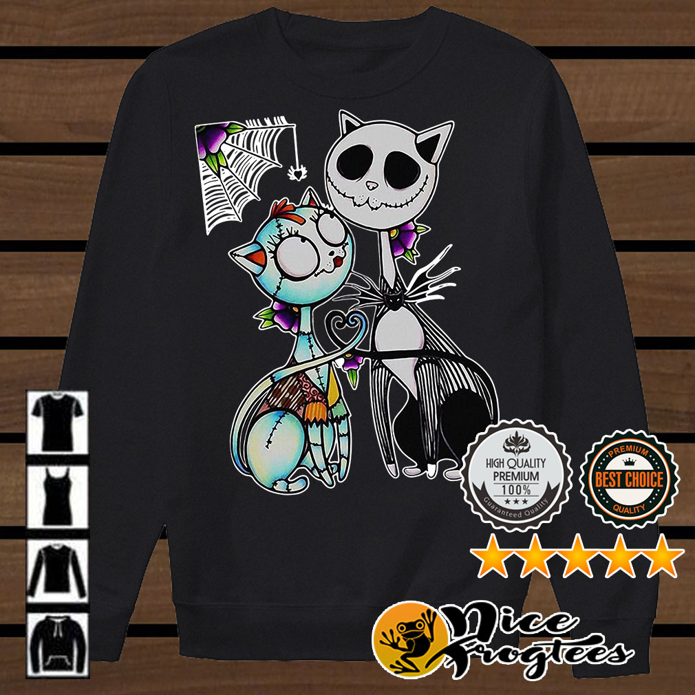 Cats Skeleton the Night Before Christmas shirt