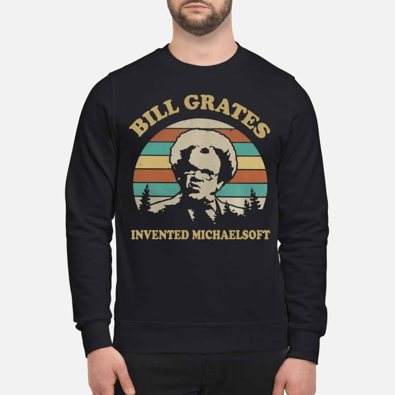 Check It Out Dr. Steve Brule Bill Grates invented michaelsoft retro Sweater