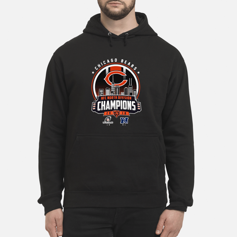Chicago Bears NFC North division champions 20 18 Hoodie
