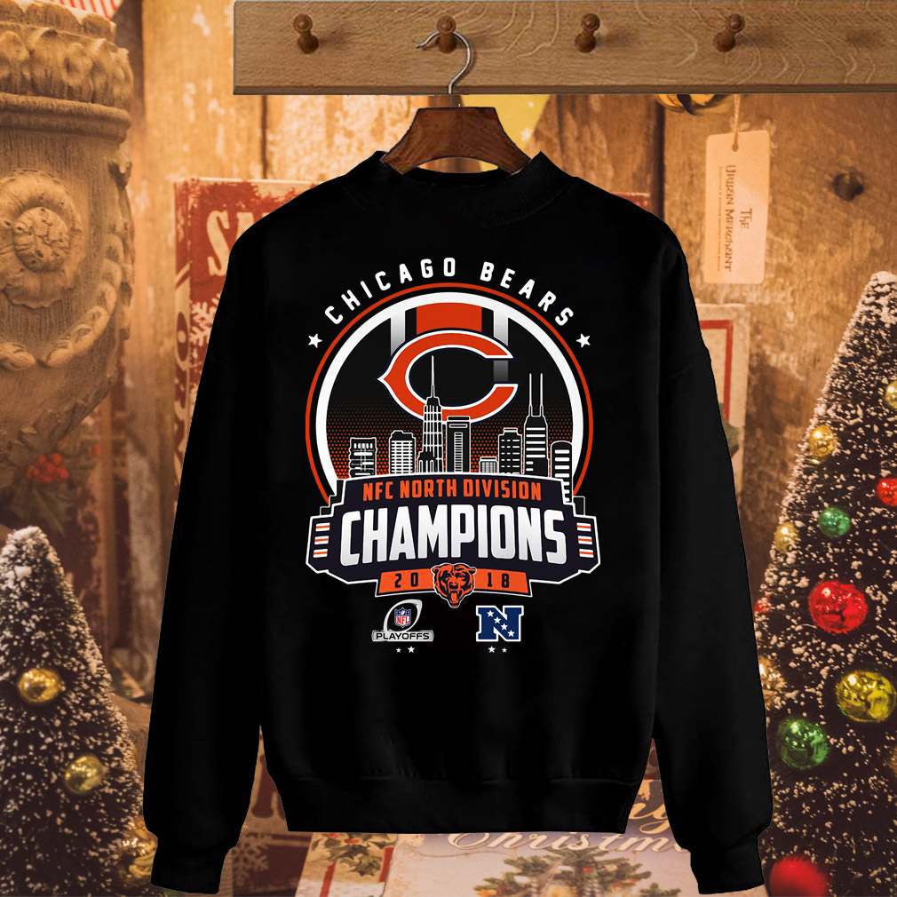Chicago bears north division champions shirt and hoodie jpg 1010x1010 North  division nfc champions 2018 sweatshirts cd1fc5473