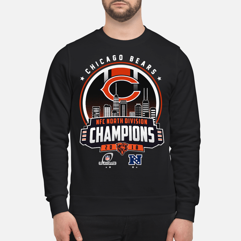 Chicago Bears NFC North division champions 20 18 Sweater