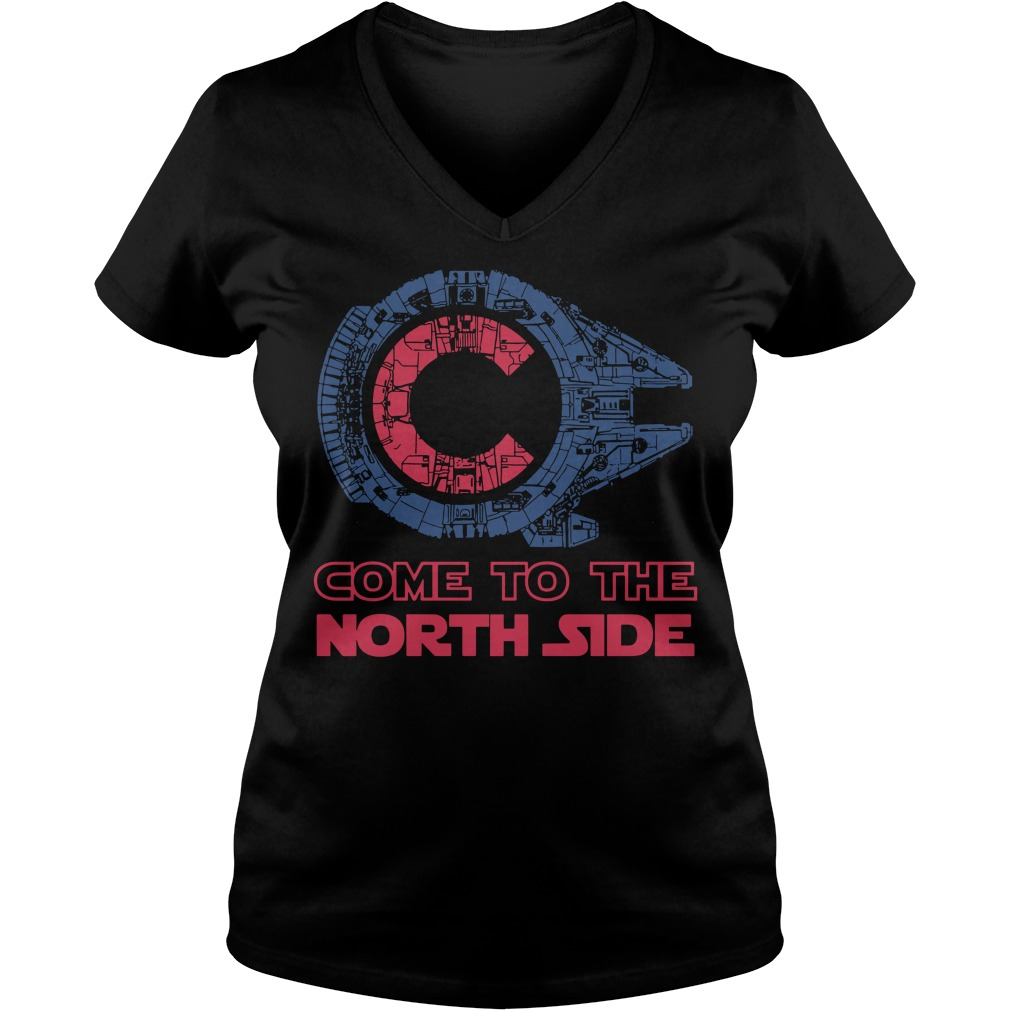 Chicago star ship come to the north side V-neck t-shirt