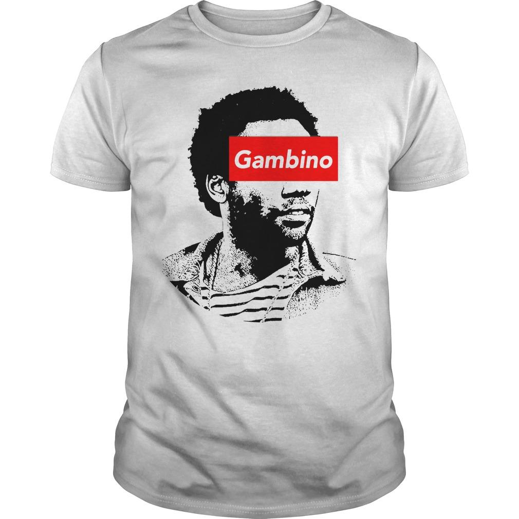 Childish Gambino art shirt
