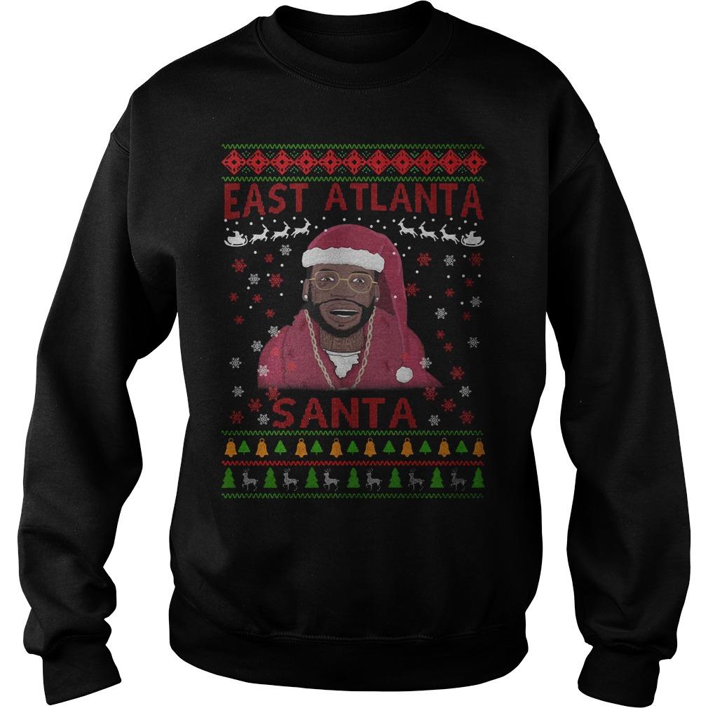 Christmas Gucci Mane east Atlanta Santa sweaterChristmas Gucci Mane east Atlanta Santa sweater