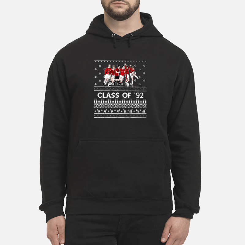 Christmas Manchester United Class of '92 Hoodie