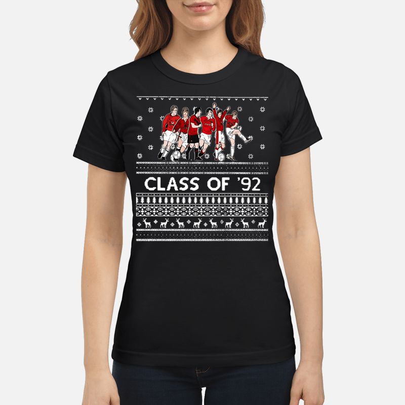 Christmas Manchester United Class of '92 Ladies tee