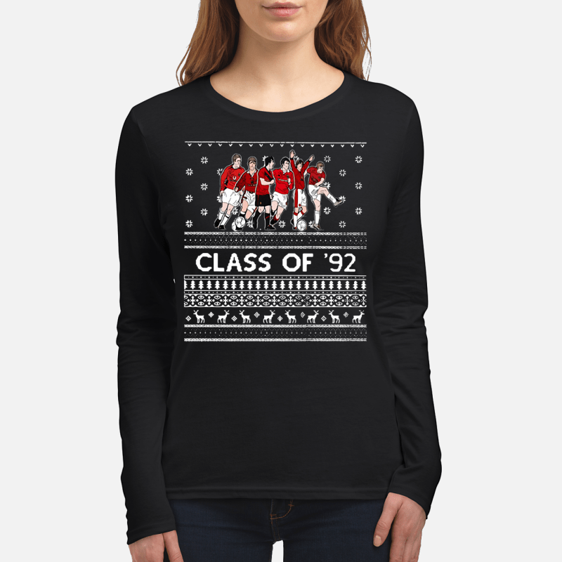 Christmas Manchester United Class of '92 Longsleeve tee