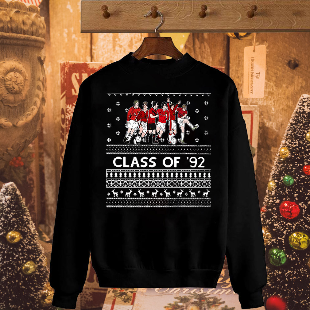 Christmas Manchester United Class of '92 sweater