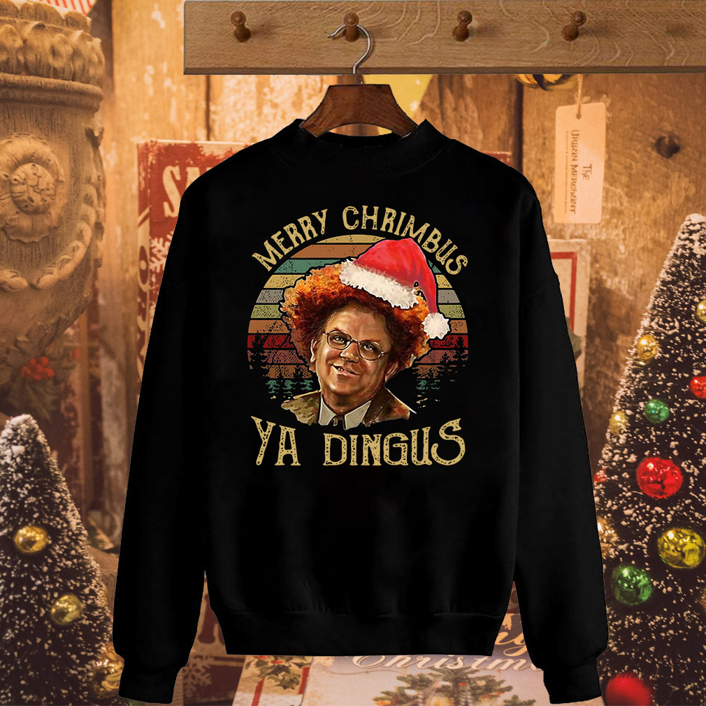 Christmas vintage merry Chrimbus Ya Dingus sweater