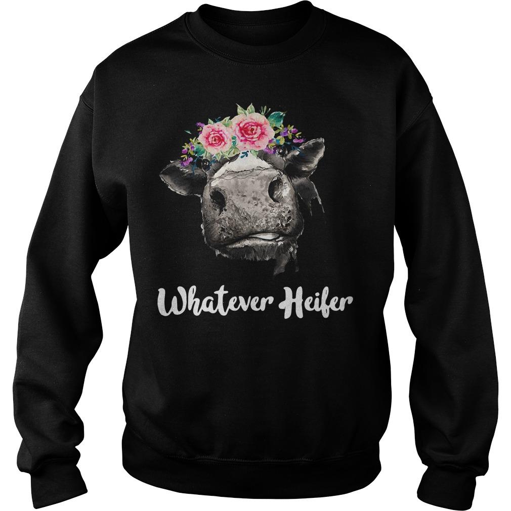 Cow Whatever Heifer Sweater