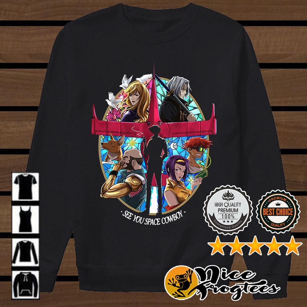 Cowboy Bebop See You Space Cowboy shirt