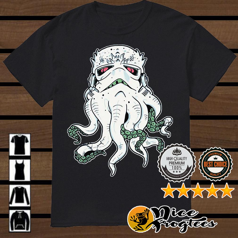 Cthulhu and Star Wars Stormtrooper mashup shirt