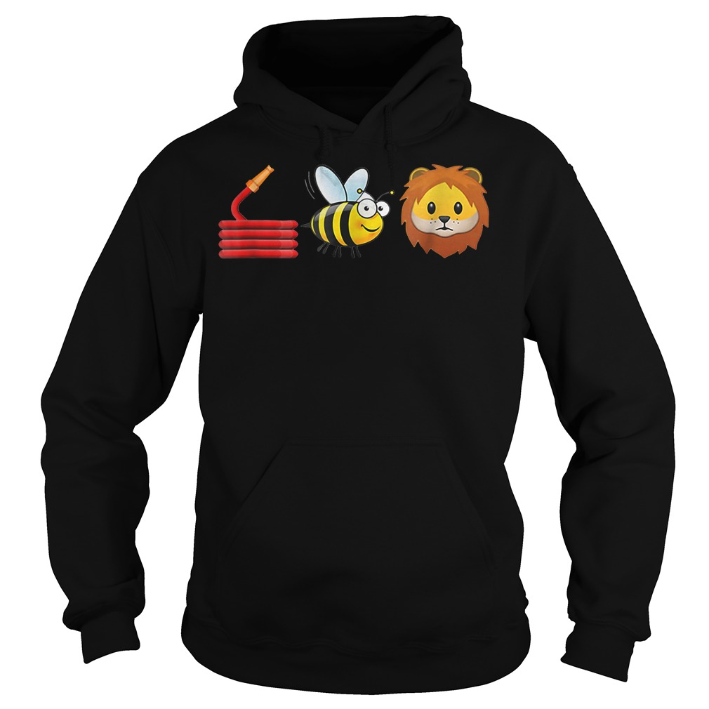 Cute Hose Bee and Lions Hoodie