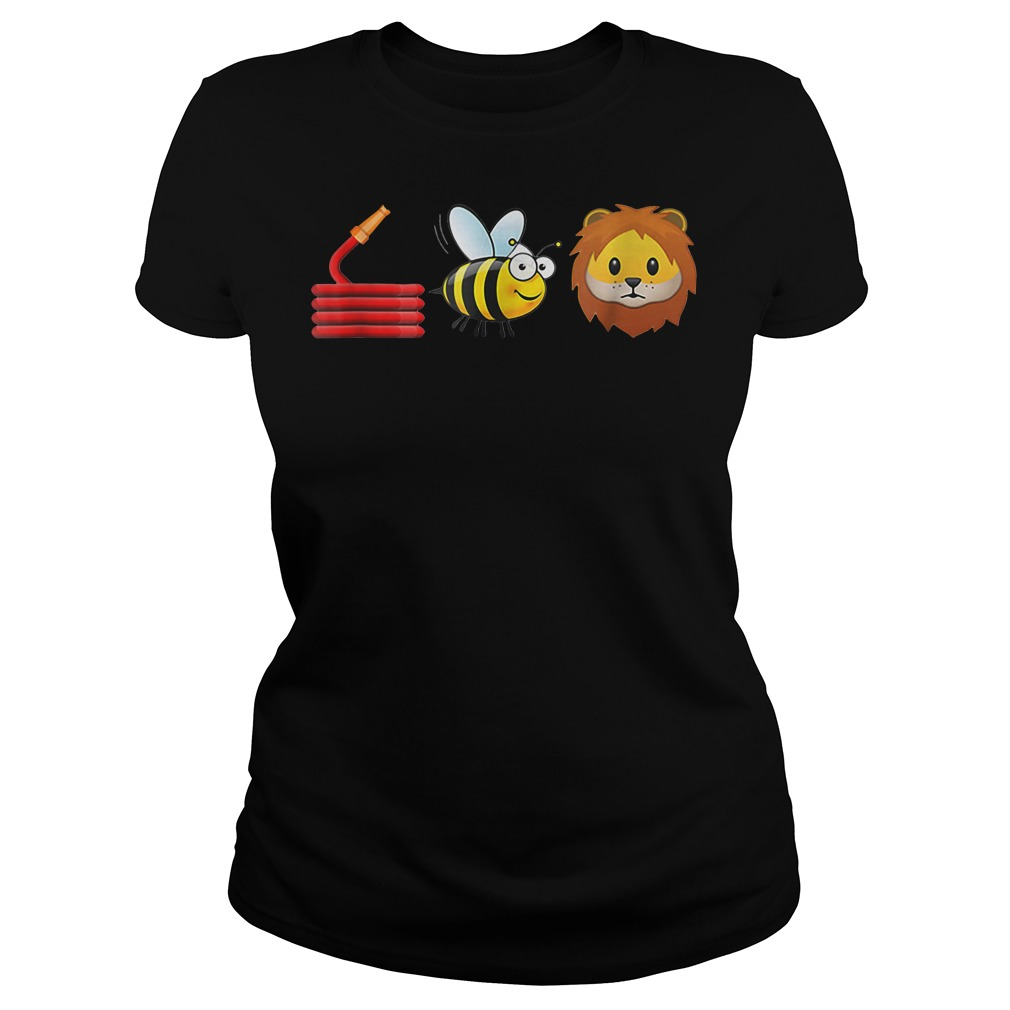Cute Hose Bee and Lions shirt