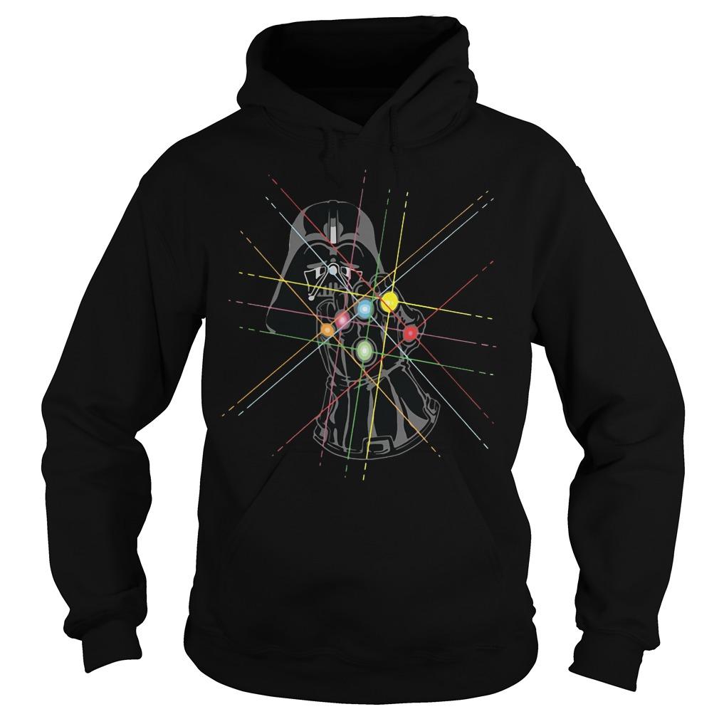Darth Vader Avengers Infinity War Thanos Gauntlet Hand Hoodie