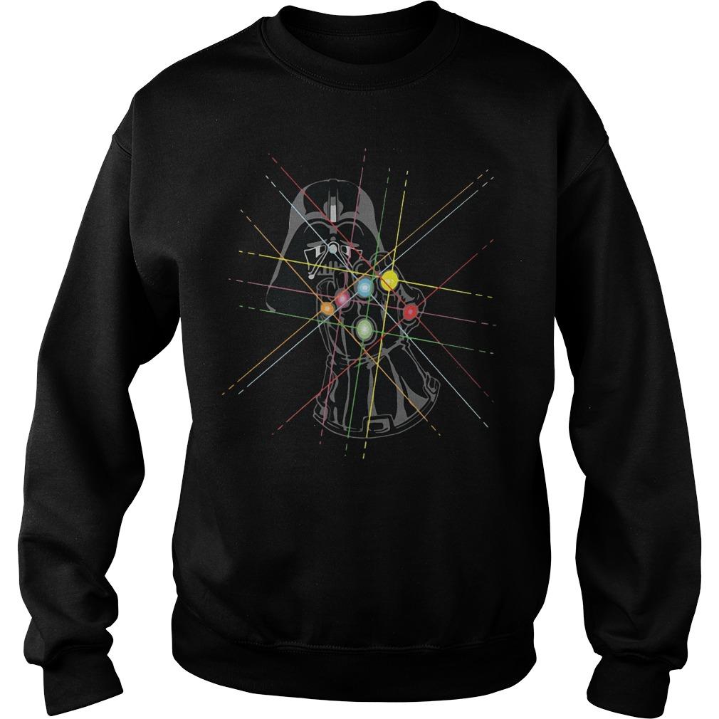 Darth Vader Avengers Infinity War Thanos Gauntlet Hand Sweater