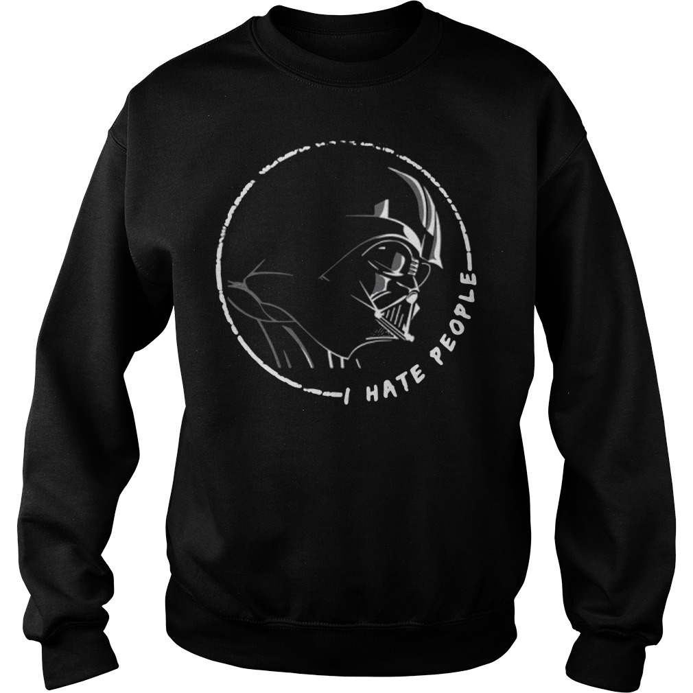 Darth Vader Star Wars I hate people Sweater