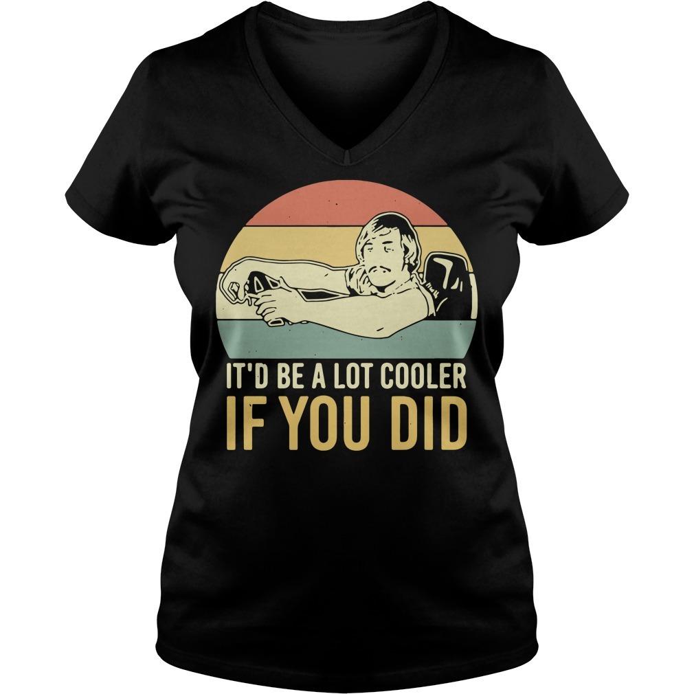 David Wooderson it'd be a lot cooler if you did vintage V-neck T-shirt
