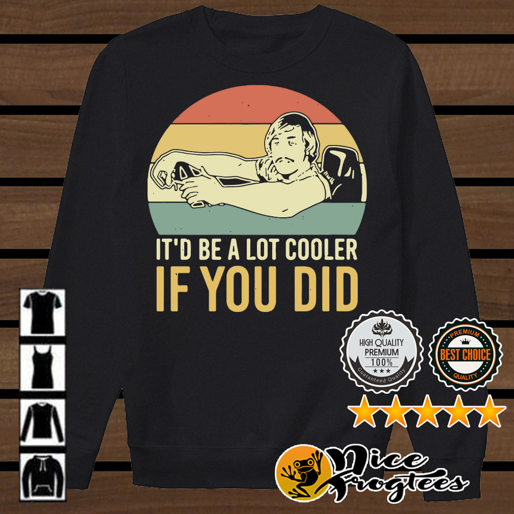 David Wooderson it'd be a lot cooler if you did vintage shirt