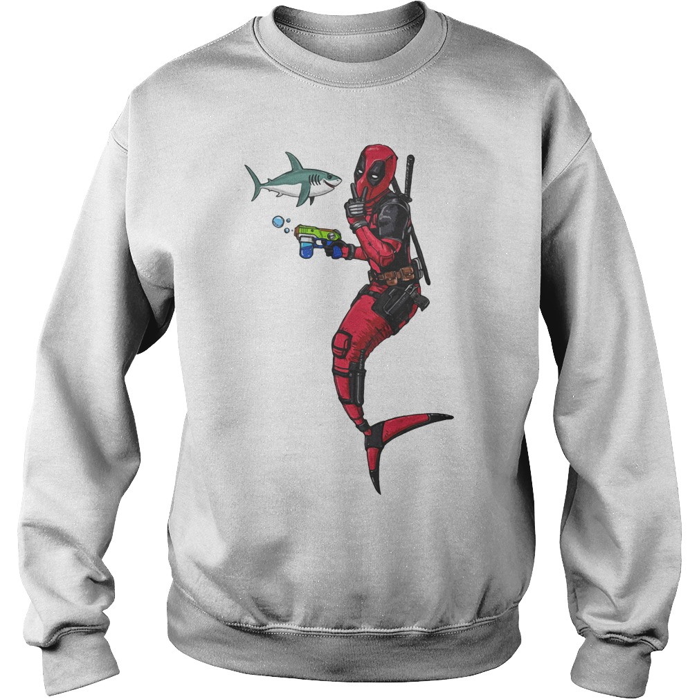Deadpool Mermaid Sweater