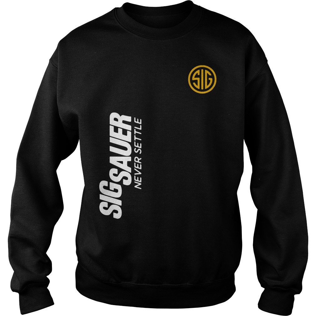 Deadpool Sigsauer never settle Sweater