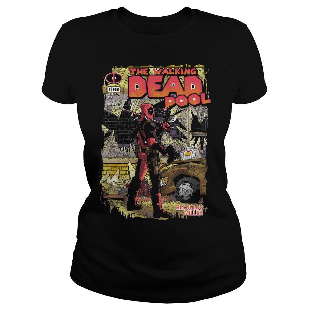 Deadpool the walking merc - issue 1 exclusive Ladies tee