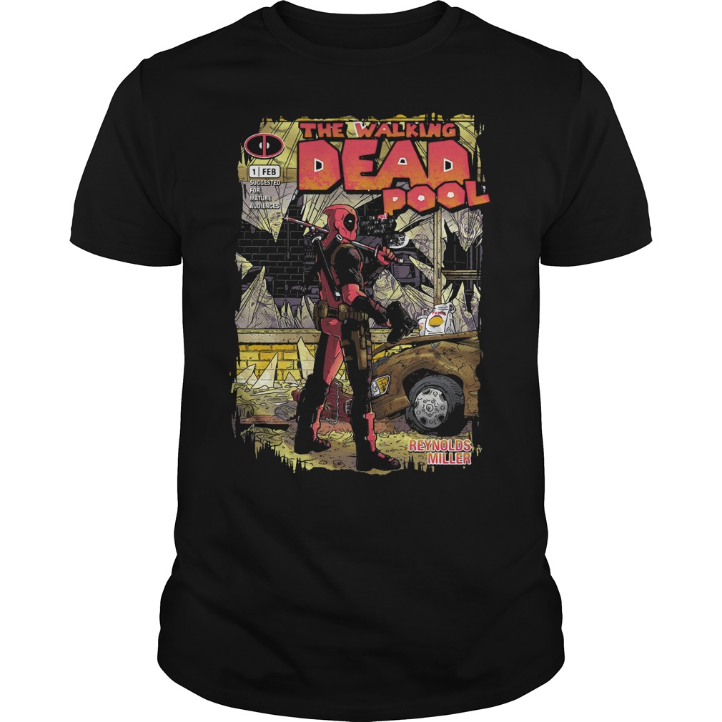 Deadpool the walking merc – issue 1 exclusive shirt
