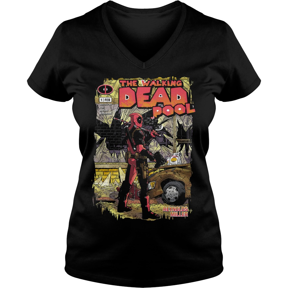 Deadpool the walking merc - issue 1 exclusive V-neck t-shirt