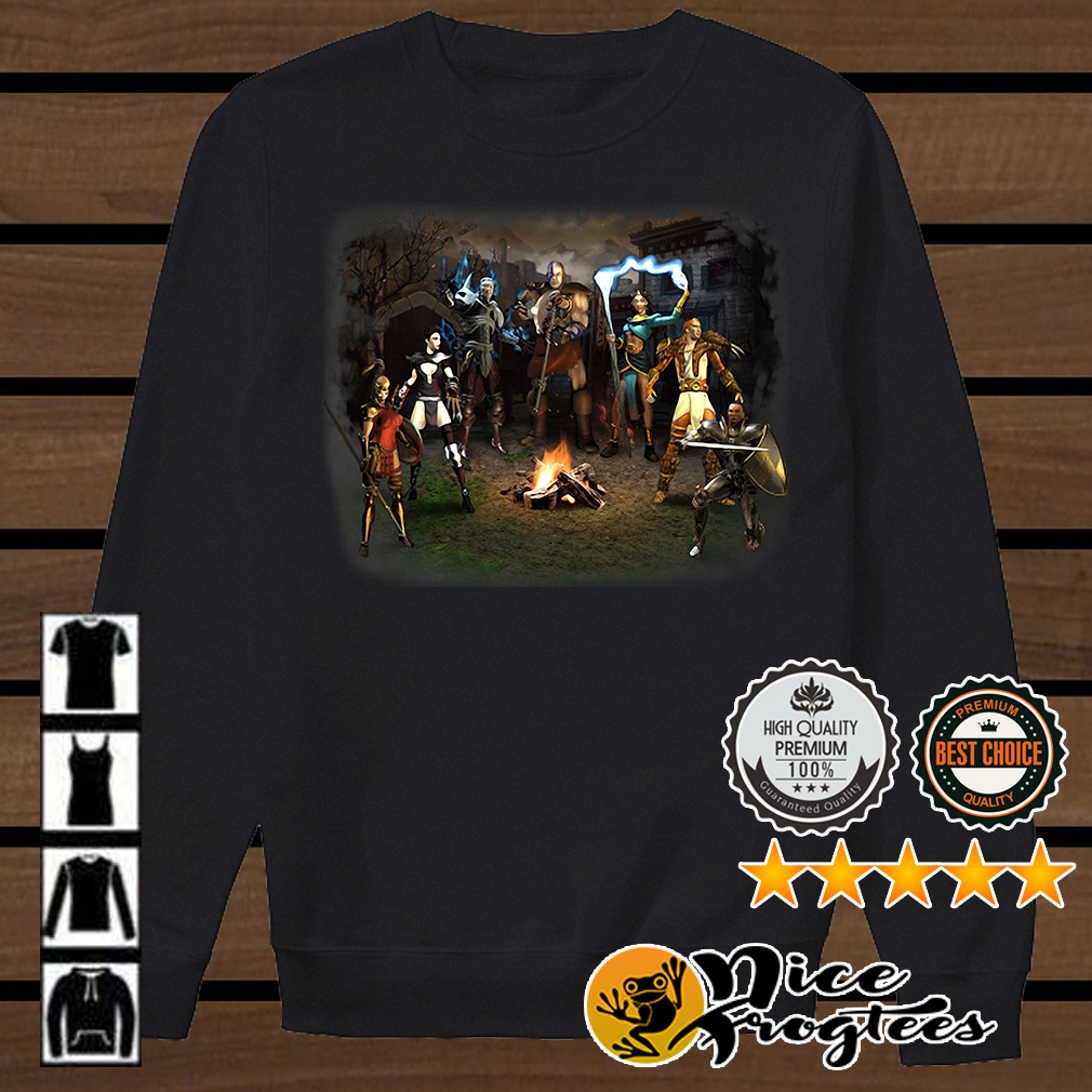 Diablo 2 Blizzard Entertainment shirt