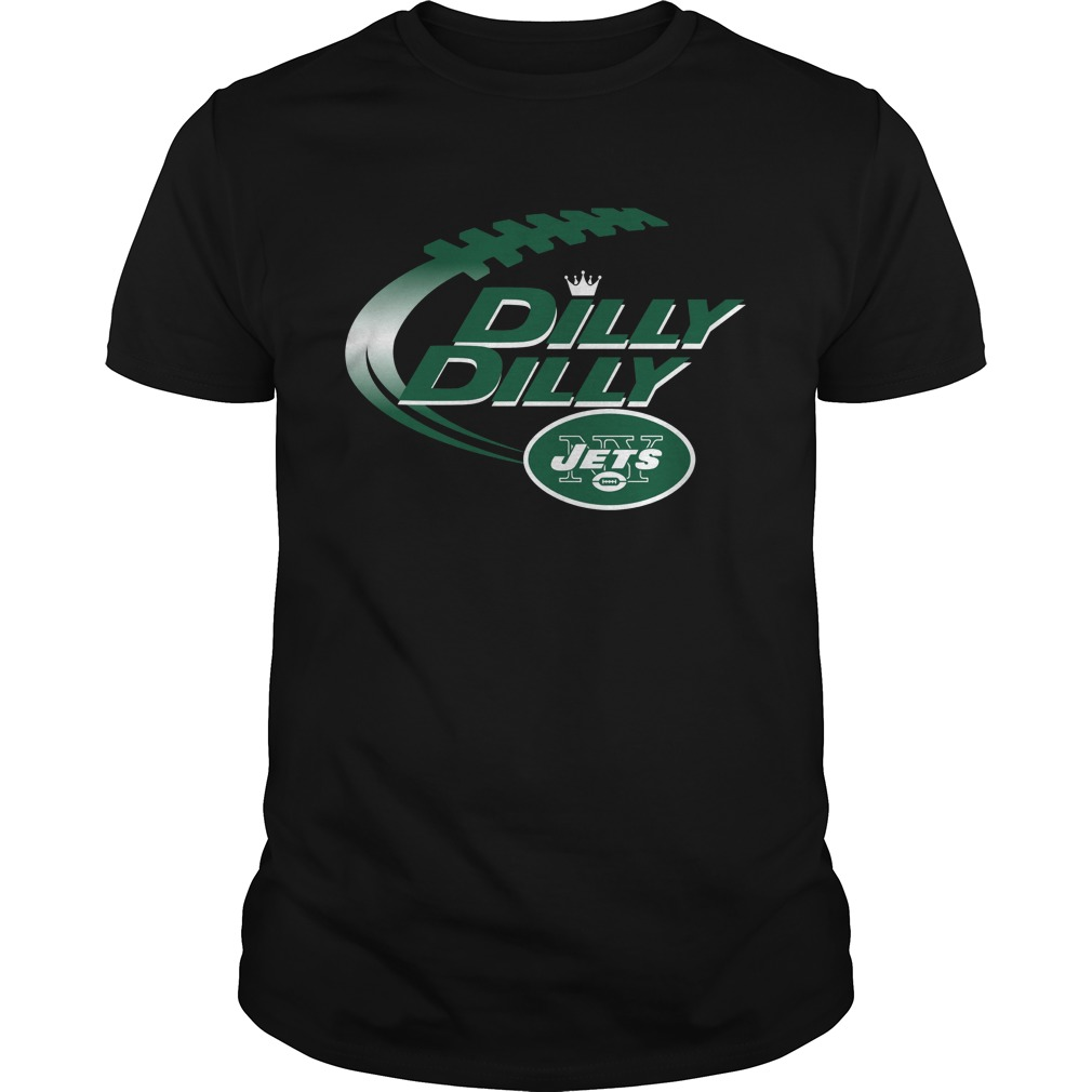 Dilly Dilly New York Jets Nfl American Football Bud Light: american football style t shirts