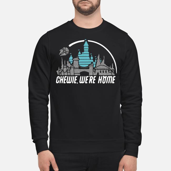 Disney Star Wars Chewie we're home Sweater