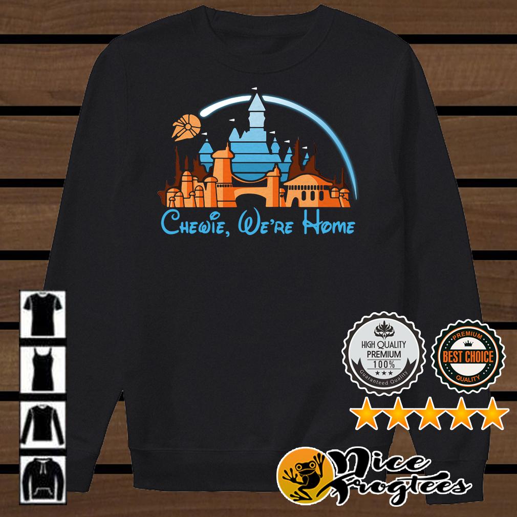 Disney Star Wars Chewie we're home shirt