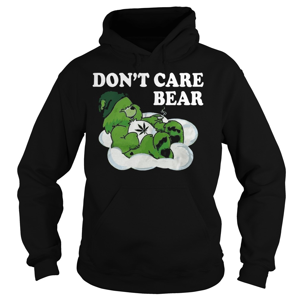 Don't care bear St Patrick's Day Hoodie