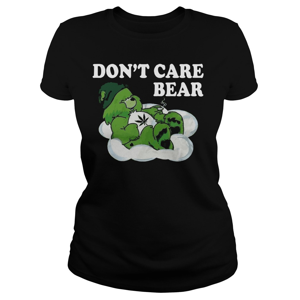 Don't care bear St Patrick's Day shirt