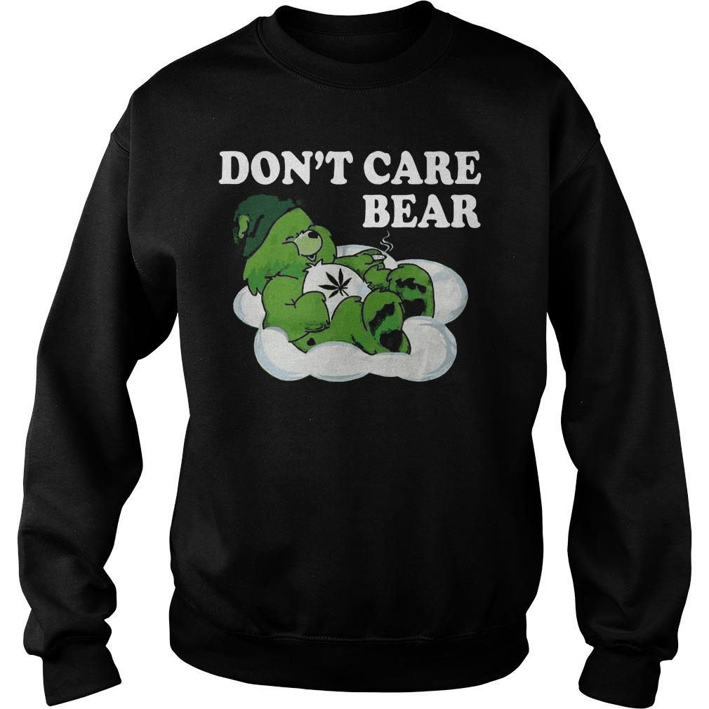 Don't care bear St Patrick's Day Sweater
