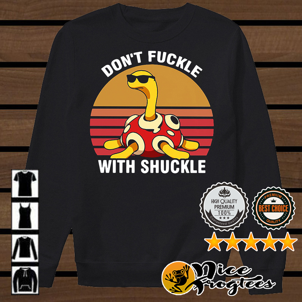 Don't fuckle with Shuckle Pokemon retro shirt
