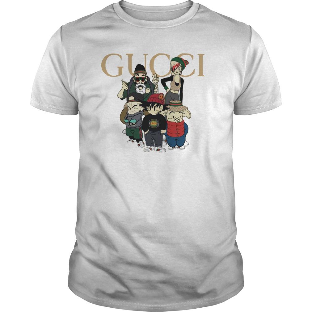 0c03687de Dragon ball GUCCI mashup shirt, hoodie, sweater and v-neck t-shirt