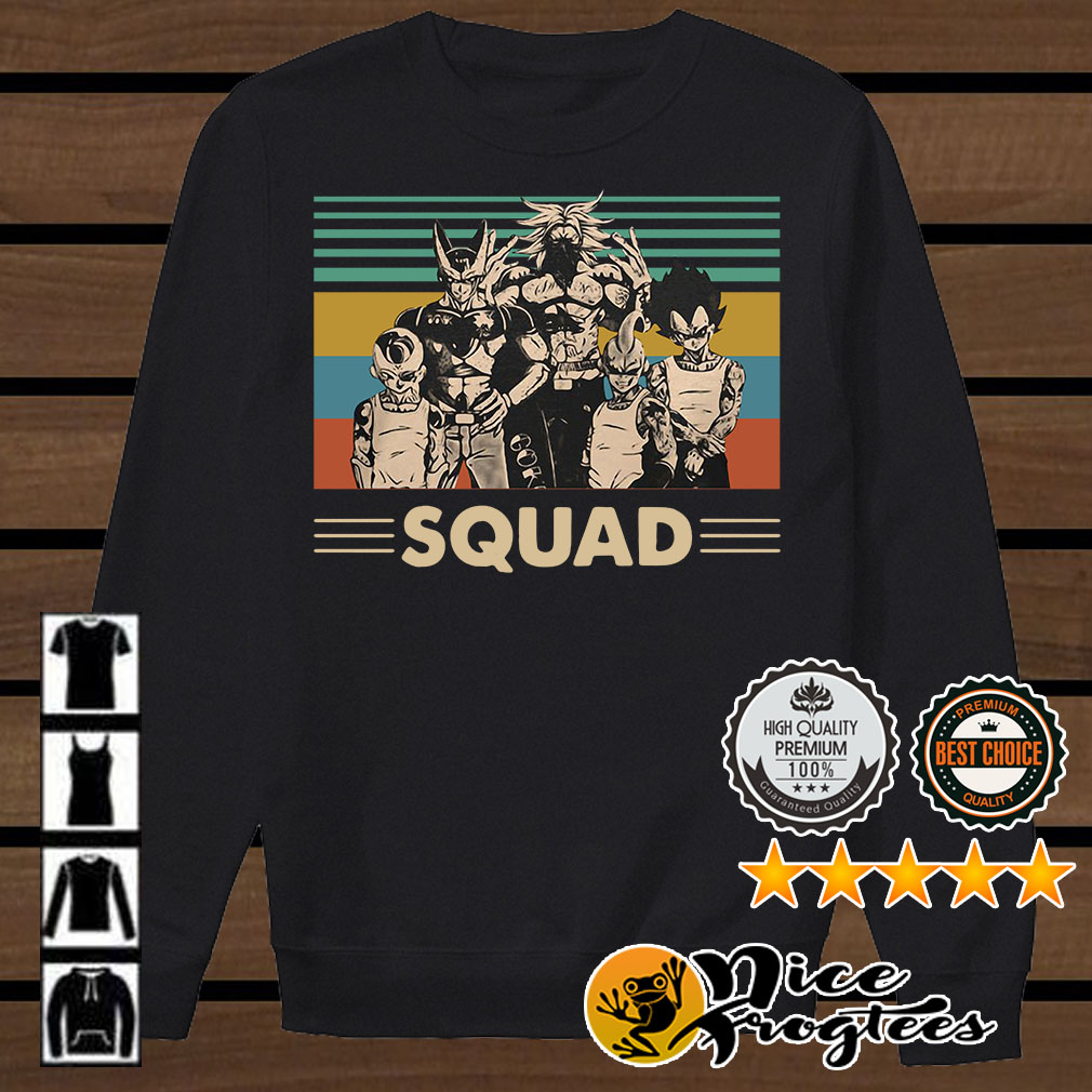 Dragon Ball Z Gangsta squad vintage shirt