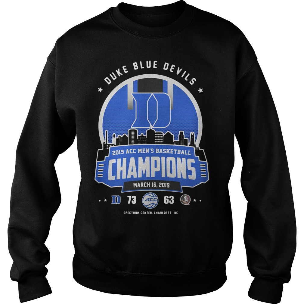 separation shoes 16aff 4b564 Duke Blue Devils 2019 ACC Men's basketball Champions March ...